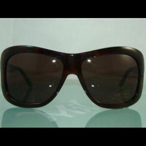 TOM FORD vintage brown wrap sunglasses TATIANA